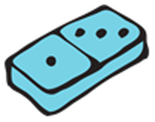 Óvodai jelkészlet 16 darabos #Domino