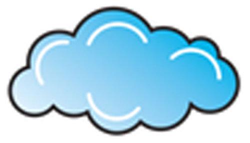 Óvodai jelkészlet 16 darabos #Felhő