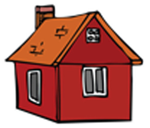 Óvodai jelkészlet 16 darabos #Ház barna