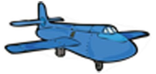 Óvodai jelkészlet 16 darabos #Repülő Kék