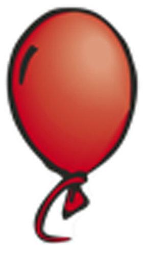 Óvodai jelkészlet 16 darabos #Lufi Piros