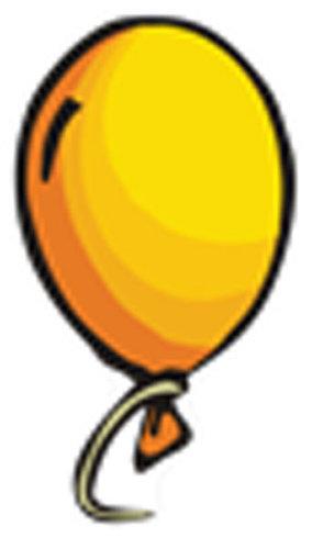 Óvodai jelkészlet 16 darabos #Lufi Sárga