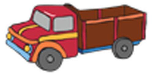 Óvodai jelkészlet 16 darabos #Teherautó