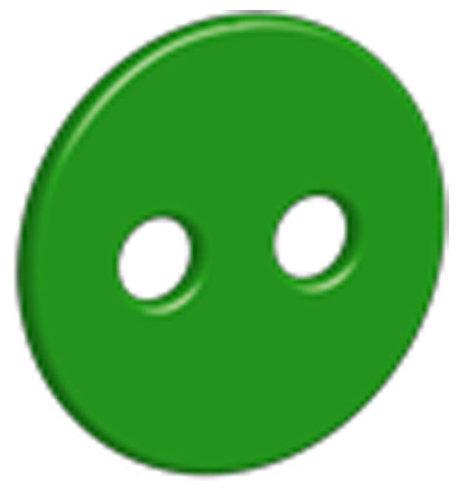 Óvodai jelkészlet 16 darabos #Gomb Zöld
