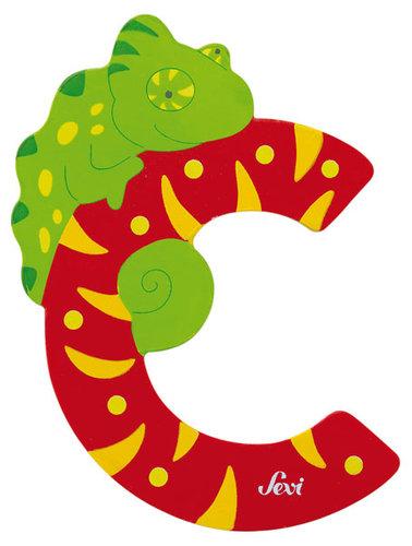 Sevi Fa betűk #állatos C piros