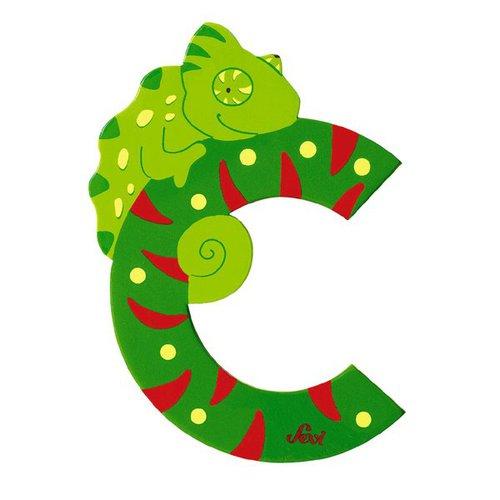 Sevi Fa betűk #állatos C zöld