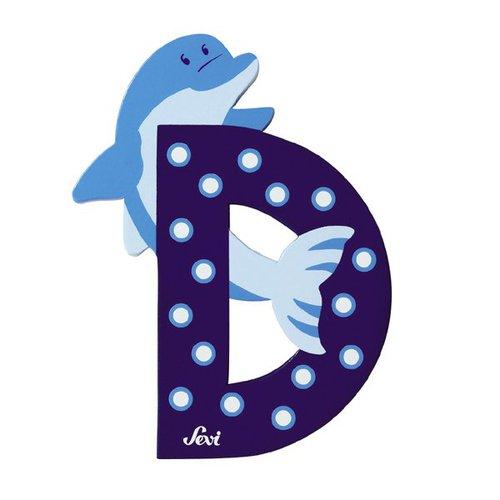 Sevi Fa betűk #állatos D kék