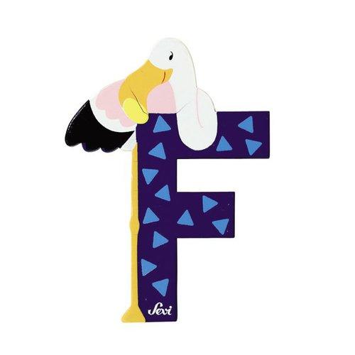 Sevi Fa betűk #állatos F kék