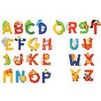 Sevi Fa betűk #állatos J piros