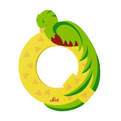 Sevi Fa betűk #állatos Q sárga