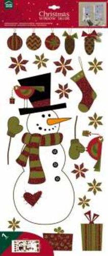 Crearreda dekoráció Hóember #95801