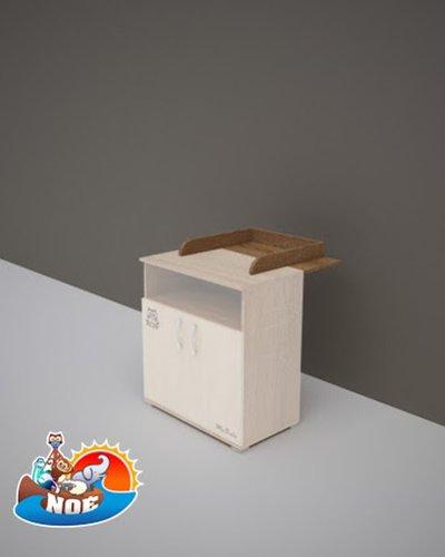 Todi Noé pelenkázó toldalék 2 ajtós polcos kisszekrényhez