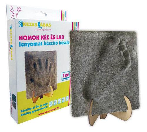 KezesLábas - Homok kéz- és láblenyomat készítő készlet