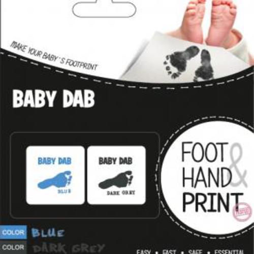 BabyDab Lenyomat készítő kék-szürke #90101