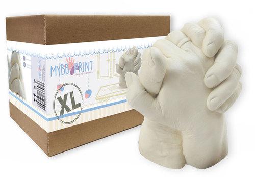 MybbPrint - XL Felnőtt Dupla kézszobor készlet