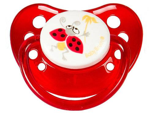 Babybruin szilikon játszócumi Katica 1-es méret #55043021