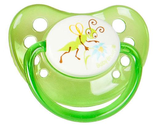 Babybruin szilikon játszócumi Tücsök 3-as méret #55043024