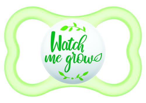 Mam Air szilikon cumi 16+ hónap #zöld Watch Me Grow #703867 2021
