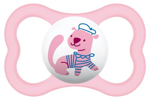 Mam Air szilikon cumi 6+ hónap #rózsaszín-kutya #805608