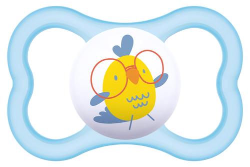 Mam Air szilikon cumi 6+ hónap #vkék-csibe #805608
