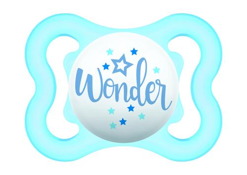 Mam Mini Air szilikon játszócumi #0-6 hó #kék Wonder #670152 2021