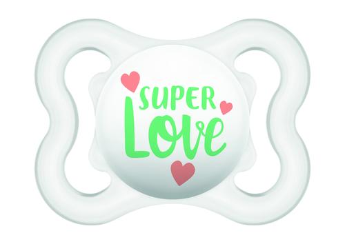 Mam Mini Air szilikon játszócumi #0-6 hó #natúr Super Love #670152 2021
