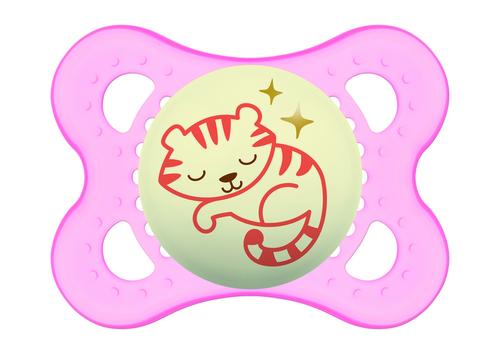 Mam Night játszócumi #2-6 hónap #Rózsaszín cica #805448 2021