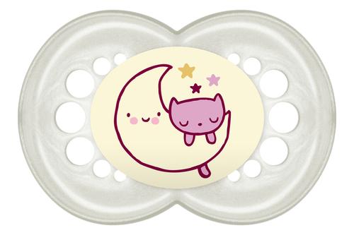 Mam Night játszócumi #6+ hónap #Natúr rózsaszín hold-cica #801723