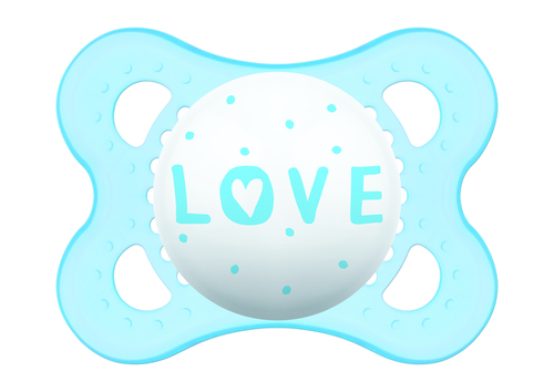Mam Original játszócumi #latex  #2-6 hó #Love kék #335211 2021
