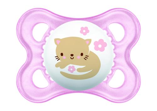 Mam Original játszócumi #szilikon #2-6 hó #Rózsaszín cica #245411 2021