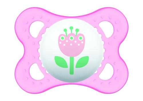 Mam Original játszócumi #szilikon #2-6 hó #Rózsaszín virág #245411 2021
