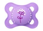 Mam Original matt játszócumi 2-6 hó 2db rózsaszín bagoly - mályva virág #810817 2021