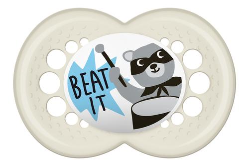 Mam Original szilikon játszócumi 16h Beat It #693267