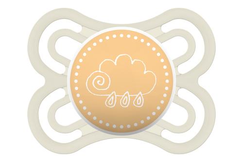 Mam Perfect játszócumi 2-6h Sárga felhő #924552