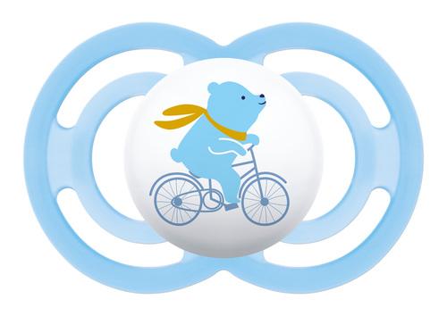 Mam Perfect Silky játszócumi #szilikon #16hó+ #biciklis maci #675379 2021