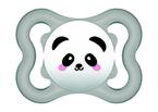 Mam Supreme játszócumi 0 hó szürke panda - natúr bálna #810879 2021