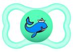 Mam Supreme játszócumi 16 hó türkiz bálna - kék hőlégballon #810916 2021