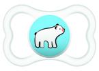 Mam Supreme játszócumi 6 hó kék kutya - natúr jegesmedve #810893 2021