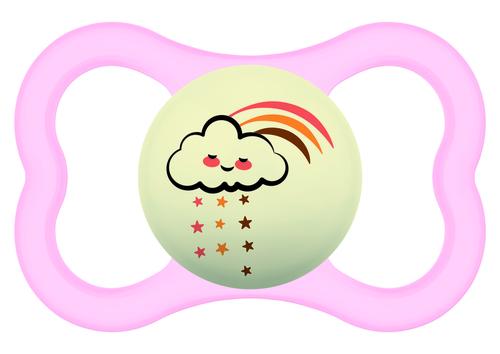 Mam Supreme Night játszócumi 16 hó rózsaszín felhő - natúr bagoly #810978 2021