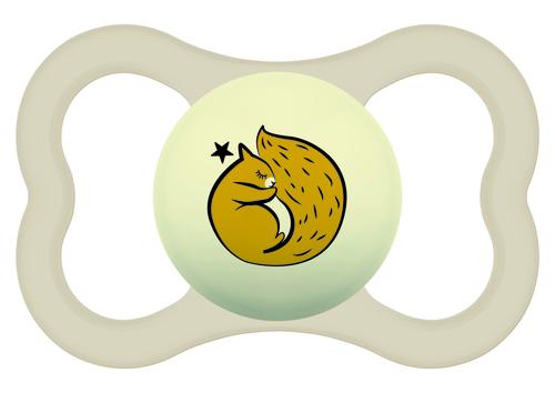 Mam Supreme Night játszócumi 6 hó szürke bolygók - fehér mókus #810954 2021
