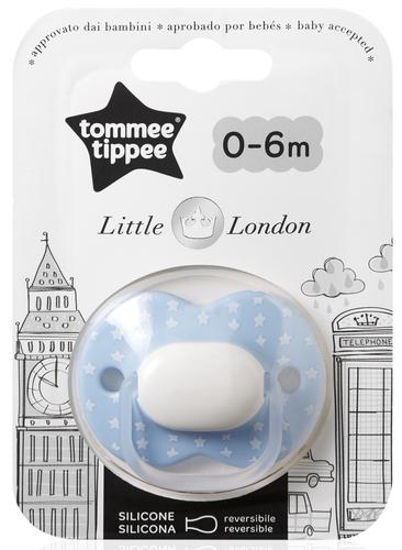 Tommee Tippee Little London játszócumi 0-6 hó #1db #fiú #43341055
