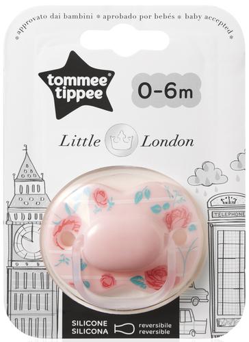 Tommee Tippee Little London játszócumi 0-6 hó #1db #lány #43340955