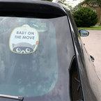 Diono OnTheMove tábla szett autóba #2db #D60565