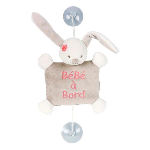 Nattou plüss Baby on Board #Mia and Basile - Mia, a nyúl