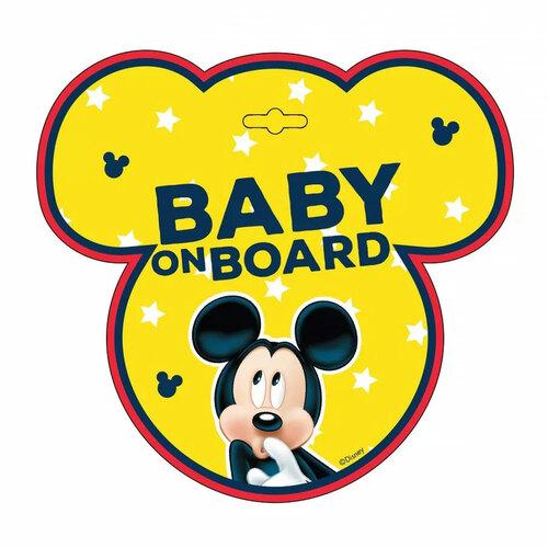 Seven Polska tábla baby on board #Mickey