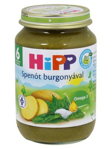 Hipp bébiétel spenót burgonyával #190g #6h