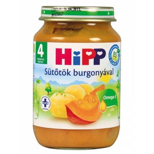 Hipp bébiétel sütőtök burgonyával #190g #4h