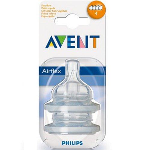Philips Avent Gyors folyású pótcumi (2db-os)