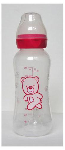 Baby Bruin 240 ml-es polipropilén cumisüveg #piros #2887