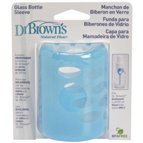 Dr Browns Szilikonos védőháló 125 ml üveg cumisüvegre #kék